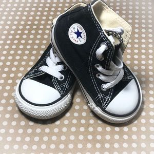 Baby Converse Chuck Taylor All Star High Tops Sz 4 5b43040a3
